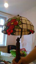 Kurs lampy Tiffany`ego- Klosz kopułowy projektu kursantki