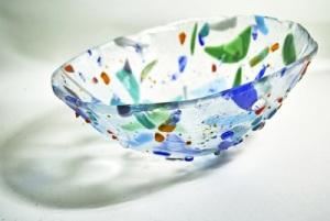 Misa szklana technika fusingu