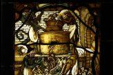 Kopia witraża średniowiecznego - detal