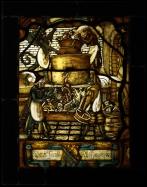 Kopia witraża średniowiecznego
