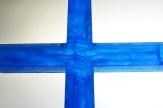 krzyż wytapiany (fusing w formie)